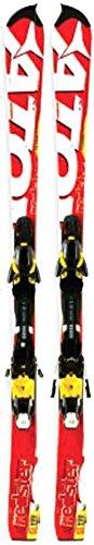 Atomic Redster FIS SL JR + XTO 12sci per Slalom Race Junior, rosso/bianco