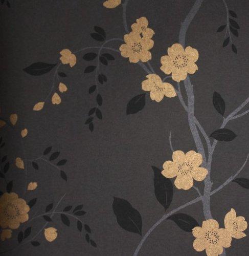 tapete barock rasch tapete barock new simplicity 774122 braun. Black Bedroom Furniture Sets. Home Design Ideas