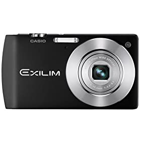 Casio EX-S200BK 14.1MP Digital Camera with 4x Optical Image Stabilized Zoom with 2.7 inch TFT LCD (Black)