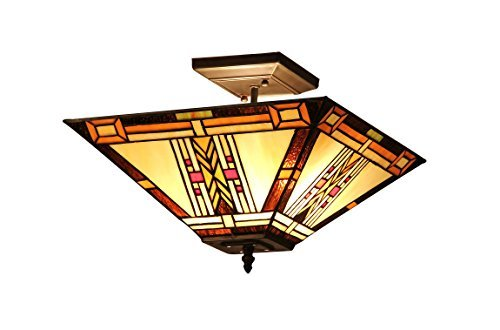 chloe-lighting-ch33291ms14-uf2-gode-tiffany-style-mission-2-light-semi-flush-ceiling-fixture-14-inch