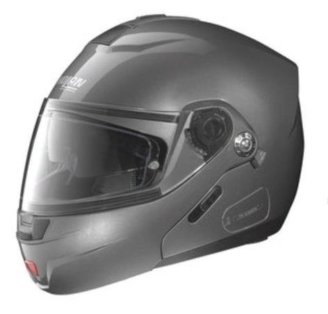 Nolan N-91 N-Com Classic Outlaw Helmet , Distinct Name: Metallic Artic Gray, Gender: Mens/Unisex, Helmet Category: Street, Helmet Type: Modular Helmets, Primary Color: Gray, Size: XS N915270330027