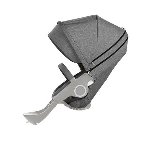 Stokke Xplory Style Kit Seat , Black Melange front-885642