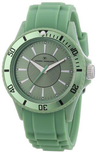 Tom Tailor - 5407909 - Montre Femme - Quartz Analogique - Bracelet Silicone Vert