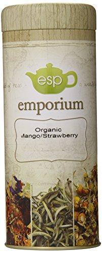 Esp Emporium Organic Tea Blend, Mango/Strawberry Rooibos, 3.53 Ounce