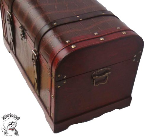 ... TOMMY Vintage Style Decorative Steamer Storage Trunk Coffee Table Box