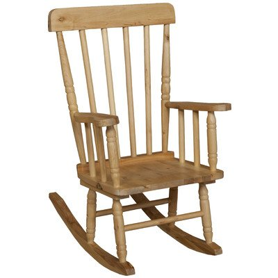 Wood designs wd89010 child 39 s rocker 10 height seat for Chair height design
