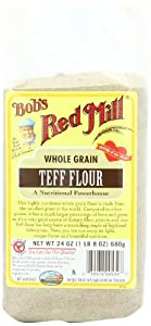 Amazon.com : Bob's Red Mill Whole Grain Teff Flour, 24