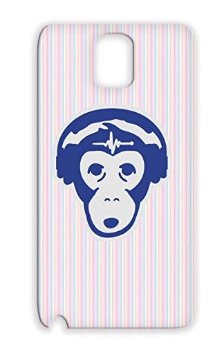Beats Simian Music Miscellaneous Reggae Music Minimal Drums Electro Headphones Jungle Monkey Silver For Sumsang Galaxy Note 3 1 F2 Protective Case