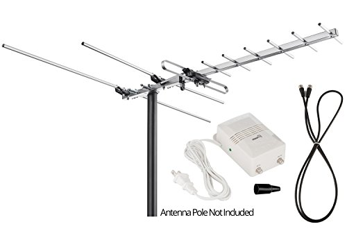 ViewTV-VT-27UV-Digital-Amplified-Outdoor-Indoor-Attic-HDTV-Antenna-150-Miles-Range