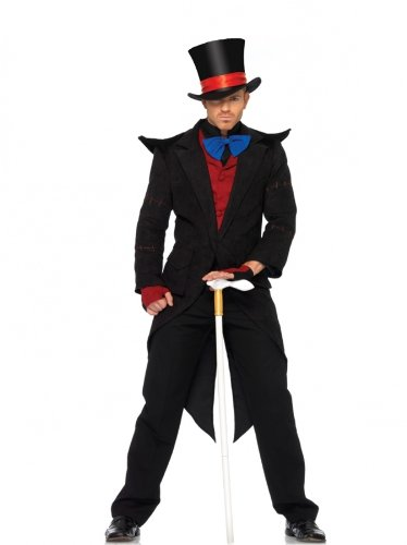 Men's Evil Mad Hatter Costume