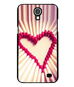 printtech Matchstick Love Heart Back Case Cover for Samsung Galaxy Mega 2 , Samsung Galaxy Mega 2 G750F , Samsung Galaxy Mega 2 G7508 Samsung Galaxy Mega 2 Duos G7508Q for China with dual-SIM card slots