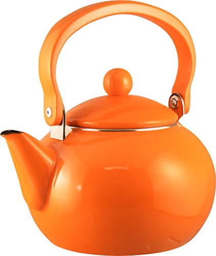 reston-lloyd-2-quart-enamel-on-steel-teakettle-orange
