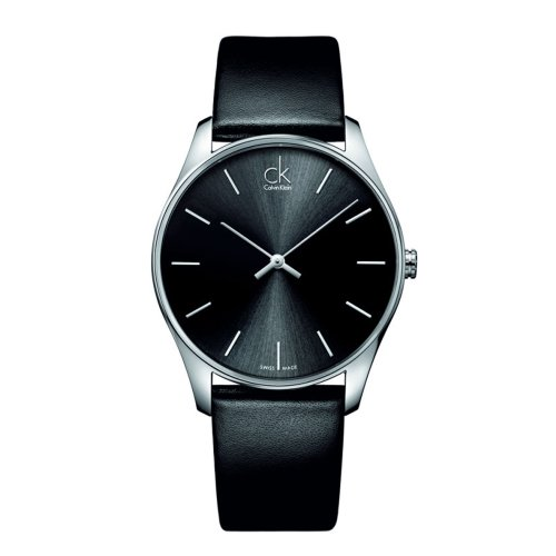 Calvin Klein  Watches best price: Calvin Klein CK Men's Black Classic Dress Watch K4D211C1