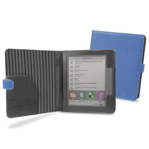 Cover-Up PocketBook Color Lux eReader Cover Case (Book Style) - Blue at Electronic-Readers.com