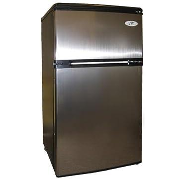 Sunpentown RF-322SS Double Door 3.2 cu.ft. Refrigerator (Stainless Steel)
