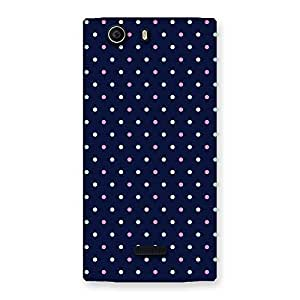 Special Colorful Dots Prints Back Case Cover for Canvas Nitro 2 E311