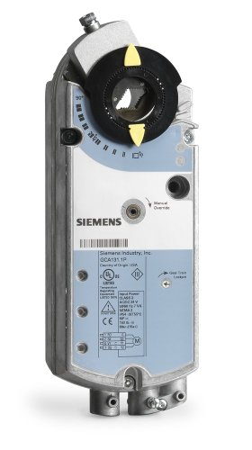 Siemens Gca136.1P Damper Actuator Electronic Direct Coupled Rotary