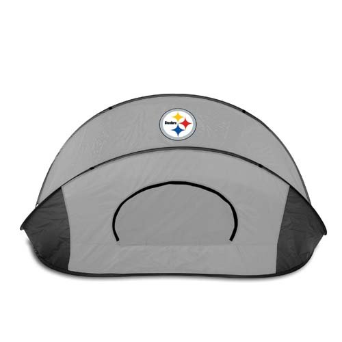 NFL Pittsburgh Steelers Manta Portable Pop-Up Sun/Wind Shelter