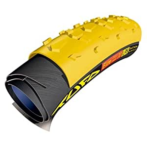 Tufo Elite Diamond 30 LPS Cyclo-Cross Tubular Tire - Yellow/Black - 401231