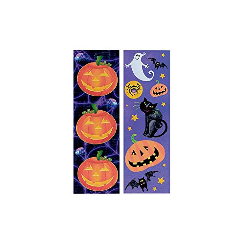 Halloween Sticker 8 Sheets