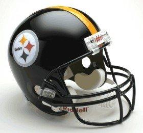 Pittsburgh Steelers Riddell Deluxe Replica Helmet by Hall of Fame Memorabilia