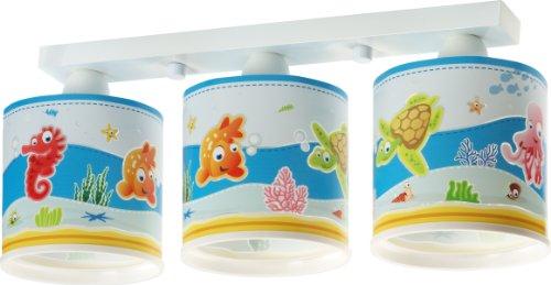 Aquarium-Deckenlampe-Dalber-60333-Clownfisch-Seepferdchen-Schidkrte-Lampe-Kinder-Zimmer