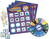 Learning Resources Advanced Fraction Zone Bingo Game
