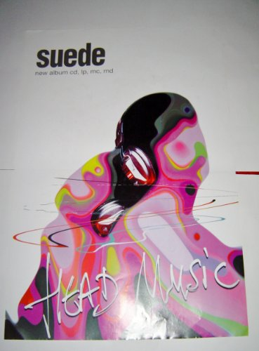 SUEDE HEAD MUSIC - 30 X 20 INCHES ORIGINAL POSTER