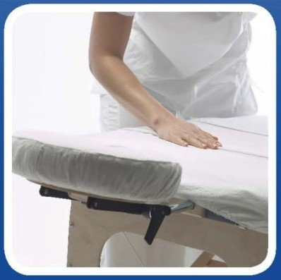 BodyMate Cotton Cover Sheet for Portable Massage Table