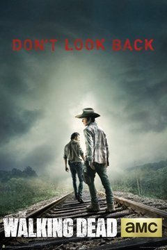 The Walking Dead - Don'T Look Back 24x36 Poster Tv Art Print Carl & Rick
