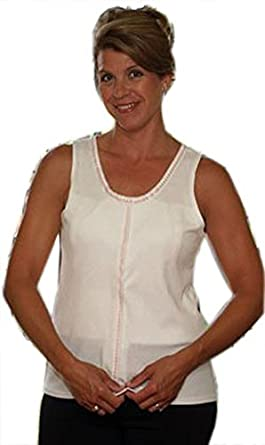 Gentle Touch Post Mastectomy Camisole, L, Beige