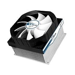 Arctic Cooling Alpine 11 Plus CPU Cooler, Silver/black