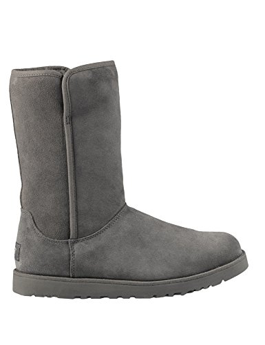 ugg-australia-womens-michelle-womens-grey-leather-boots-in-size-37-black