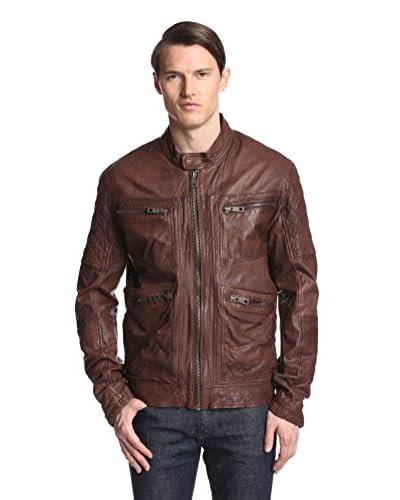 Andrew Marc Men's Weston Leather Moto Jacket