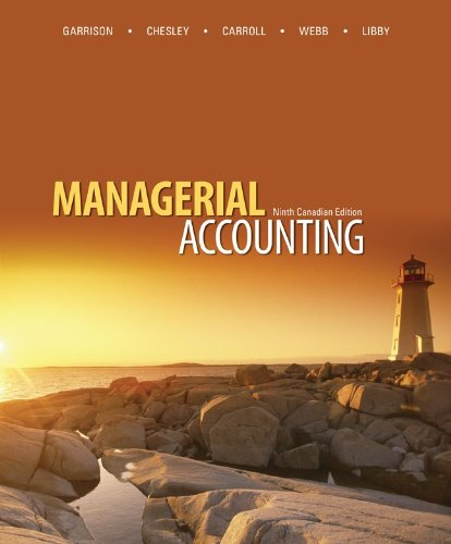 managerial accounting 15th edition solutions pdf