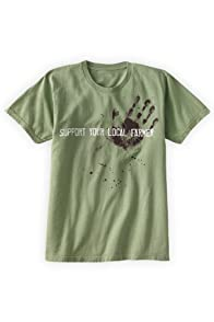 Green 3 Apparel Support Farmer Organic USA-made T-shirt