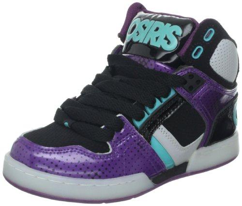 Osiris NYC83 Kids Shoes - Black Purple Sea - UK 2