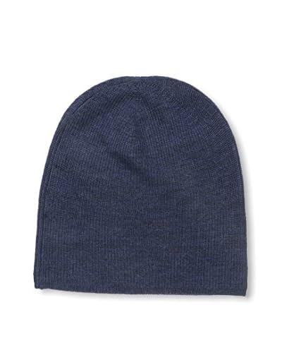 Cullen Men's Merino Knit Beanie, Indigo