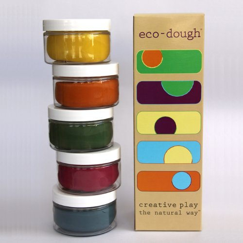 Eco Kids Natural Plant Dye Modeling Dough