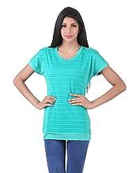 Juelle Women's Blended Green Top