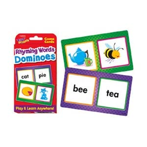 Rhyming Words Dominoes Challenge Cards®