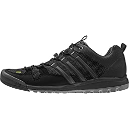 Adidas Terrex Solo Shoe - Men\'s Black / Vista Grey / Chalk White 12