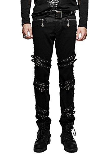 Visual kei Pantaloni uomo PUNK RAVE multicolore XL