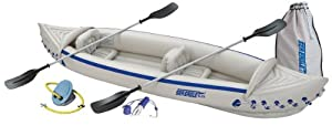 Buy Sea Eagle SE370 Inflatable Kayak with Deluxe Package by Sea Eagle