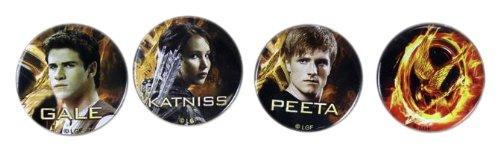 The Hunger Games Movie Pin Set 4 pin set