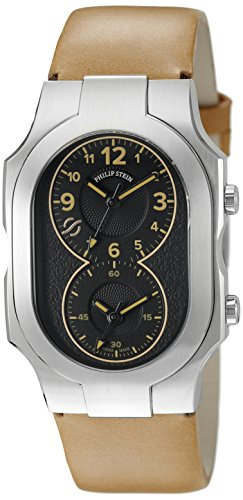 Philip-Stein-Mens-200-CLBK-CIC-Swiss-Signature-Analog-Display-Swiss-Quartz-Brown-Watch
