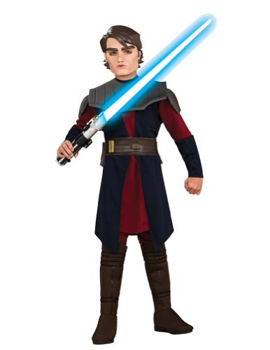 Anakin Skywalker Deluxe Child Large Kids Boys Costume