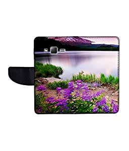 KolorEdge Printed Flip Cover For Samsung Galaxy Z1 Multicolor - (43KeMLogo11070SamZ1)