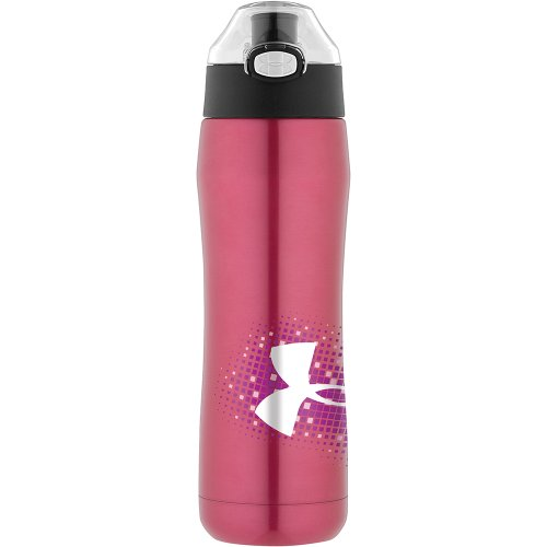 Under Armour Beyond Vacuum Insulated Bottle, Cerise, 18-Ounce front-937114