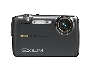 Casio Exilim EX-FS10 9MP Digital Camera with 3x Optical Image Stabilized Zoom and 2.5 inch LCD (Gray)